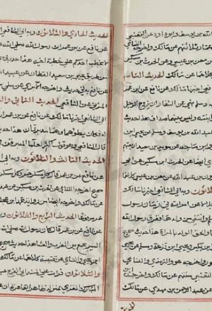 مخطوطة - توالي التأسيس لابن حجر