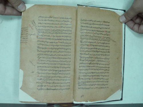 مخطوطة - حاشية سيالكوتي على الشرح للجامي