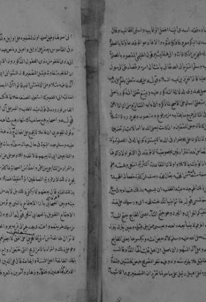 مخطوطة - حاشية على النهجة المرضية للسيوطي
