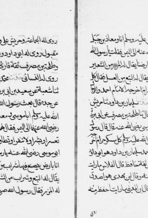 مخطوطة - رشق السهام الى من ضعف حديث كل مسكر حرام للهندي