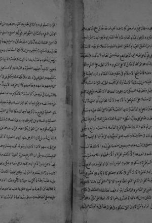 مخطوطة - رقم المخطوطة 11 حاشية على النهجة المرضية للسيوطي