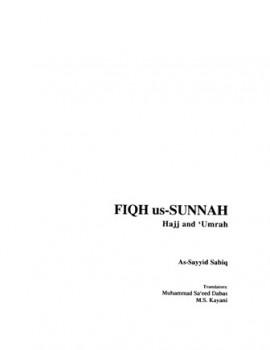 FIQH us SUNNAH, Hajj and Umrah فقه السنة الحج والعمرة