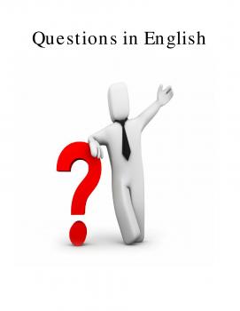 مئة سؤال في اللغة الانكليزية