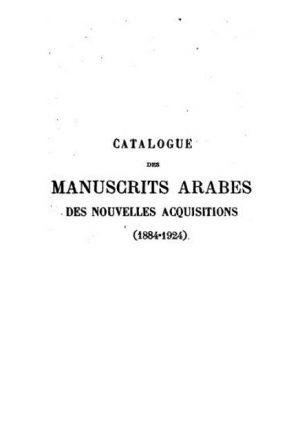 المخطوطات العربية في باريس