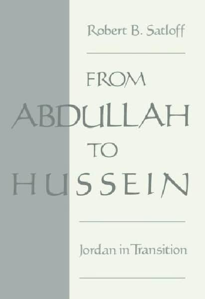 From Abdullah to Hussein Jordan in Transition