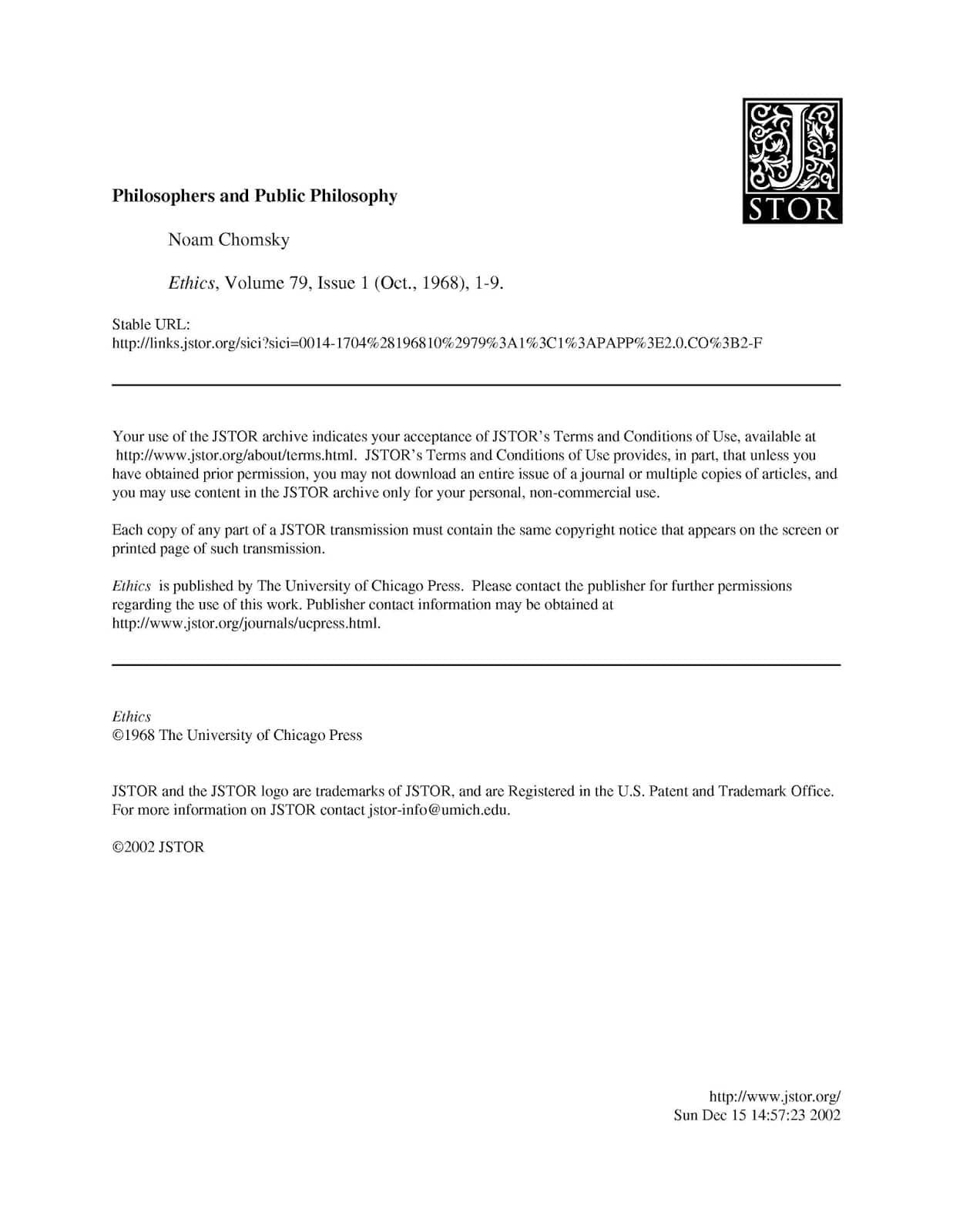 Philosophers And Public Philosophy